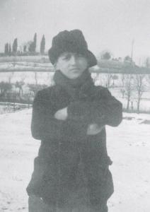 GIulio Turci nell'inverno del 1929