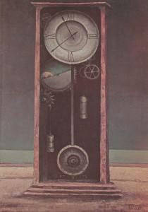 Olio su faesite, cm. 70 x 50; firmato e datato a destra in basso: Turci 67.