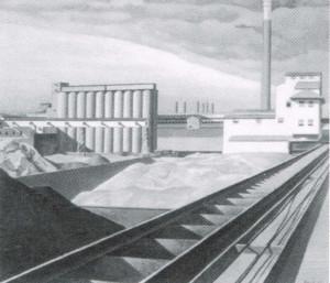 Charles Sheeler, Paesaggio classico. 1931