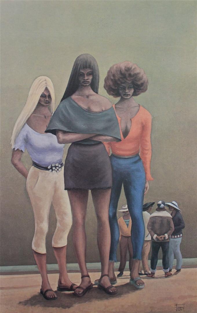 1972 Olio su tela cm 60x90