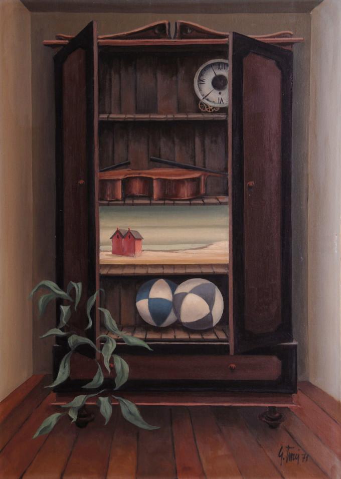 1971 Olio su tela cm 50x70