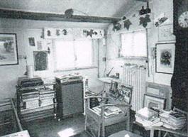 L'atelier di Giulio Turci (foto Giulio Turci)