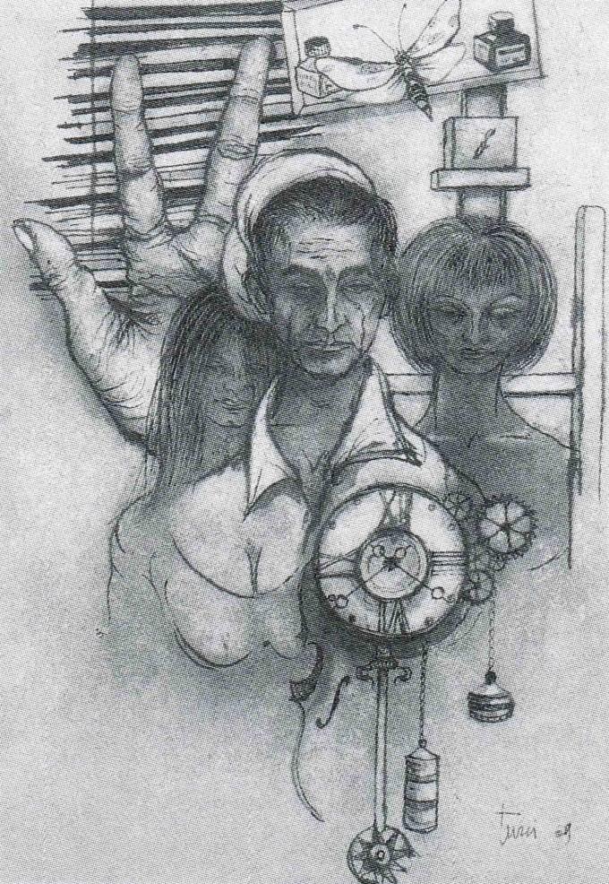 Autoritratto del tre