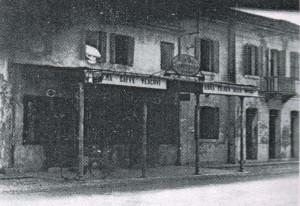 Michelangelo Antonini, Il caffè Vescovi a Cantarina, 1956-'57